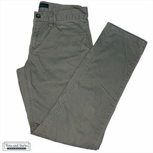 Perry Ellis Grey Men's Slim Fit Chino Pant